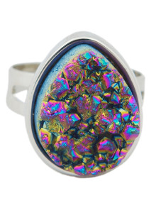1124-5-Rainbow-Teardrop-Druzy-Ring