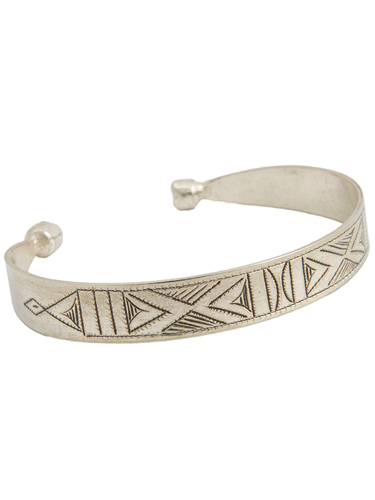 1208-Silver-Tribal-Bangle