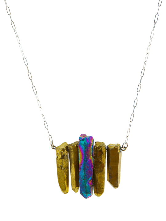 Cosmic-Rays-Necklace