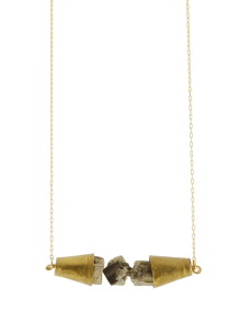 Pyrite_Cone_Necklace
