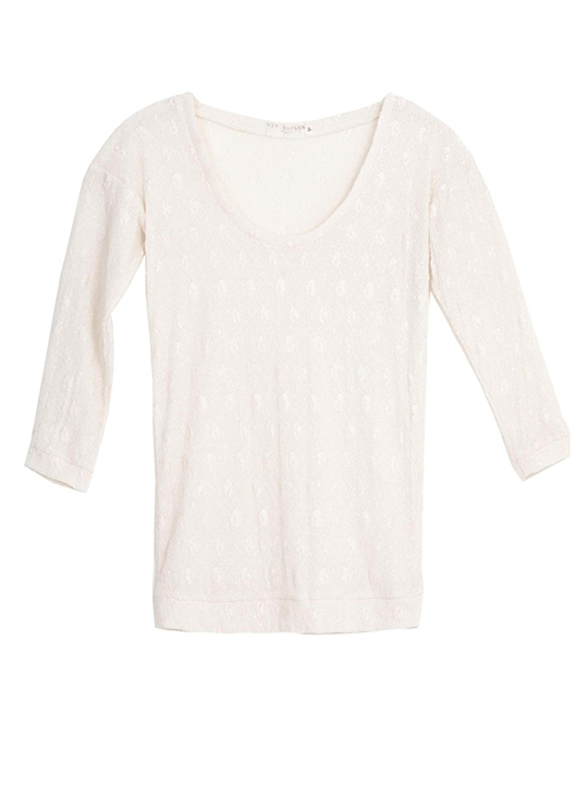Scoopneck-Lace-Top
