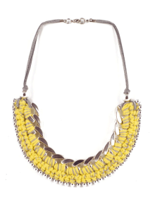 Tarim-necklace-yellow-silver