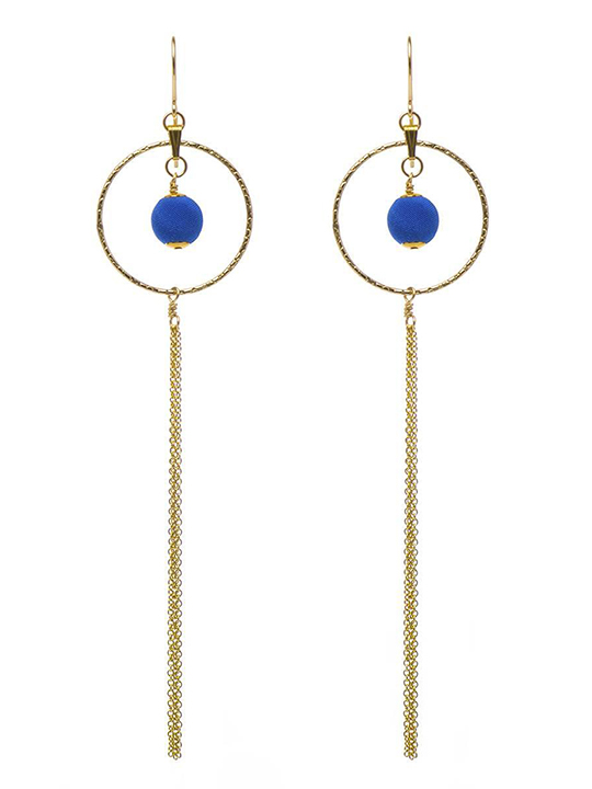 cobalt-blue-gold-dreamcatcher-earrings